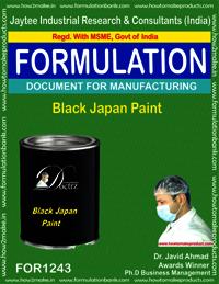 Black Japan Paint