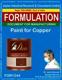 Paint for Copper Formulation