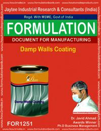Damp Walls Coating Formulation
