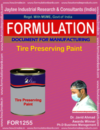 Tire Preserving Paint Formulation