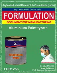 Aluminium Paint type 1 Formulation