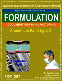 Aluminium Paint type 2 Formulation