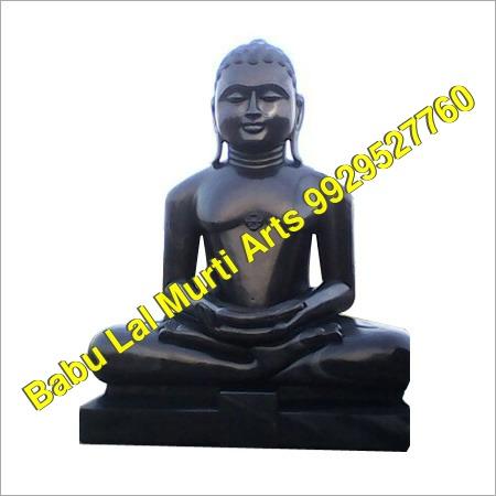 Beslana Black Padmasan Digambar Jain Moorti