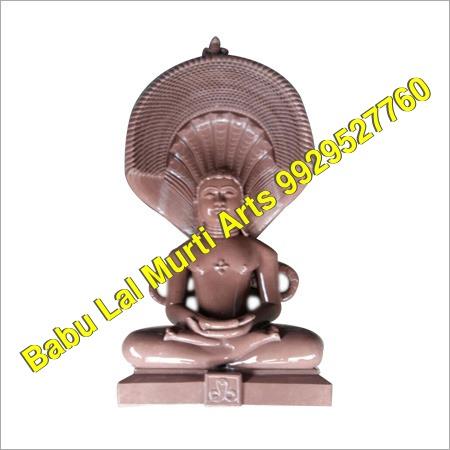 Bijoliya Parsavnath Padmasan Digambar Jain Moorti