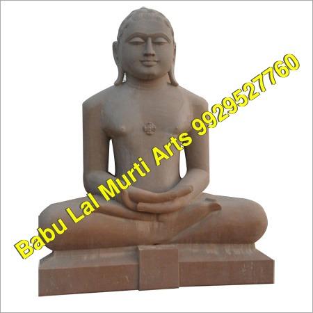 Marble Pasan Digambar Jain Moorti