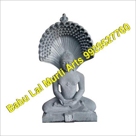 White Marble Jain Statue