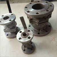 Flanges Type S.S.Ball Valve