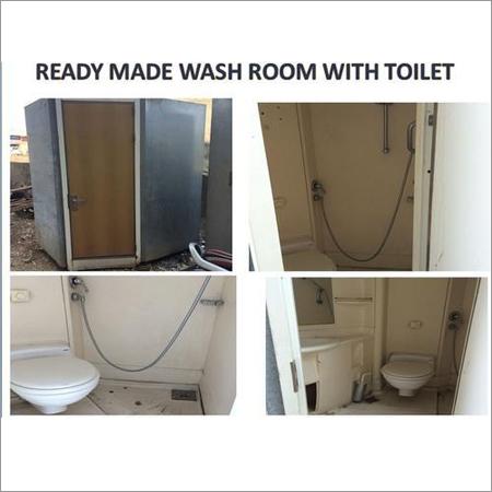 Ready Made 2 in1 Portable Washroom