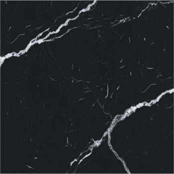 Black Marquina Polished Glazed Vitrified Tiles