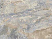 Breccia Azul Grande Glazed Vitrified Tiles