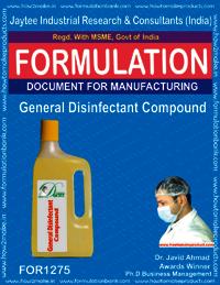 General Disinfectant Compound formula