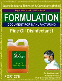 Pine oil Disinfectant Formulation