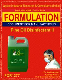 Pine oil Disinfectant-II Formulation