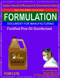 Fortified Pine oil Disinfectant