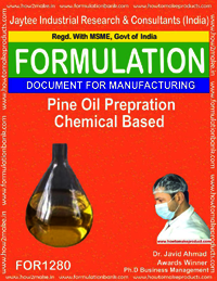 Pine oil preparation disinfectant chemical based