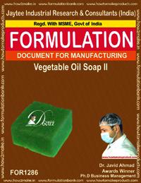 Vegetable Oil Soap II Formulation