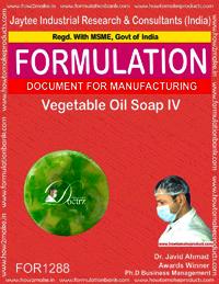 Vegetable Oil Soap IV Formulation