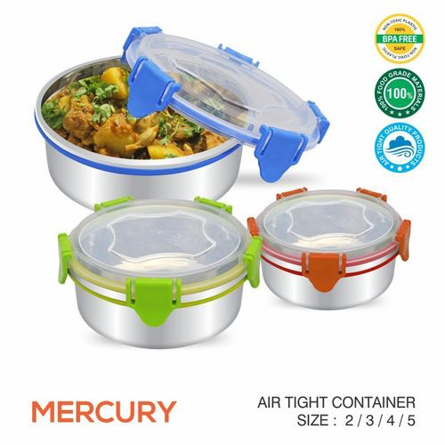 Mercury Air Tight Food Container