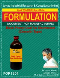 Black Phenyl Coal Tar Disinfectant (Cresolin Type)
