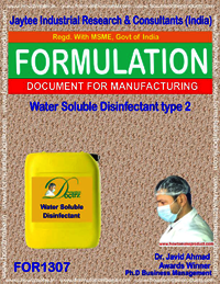 Water Soluble Disinfectant type 2