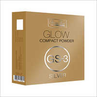 Glow Compact Powder GS - 3 Silver Shadow - 10gm