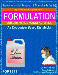 Air Deooriser Based Disinfectant