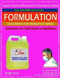 Disinfectant for Toilet Based on Napthalene