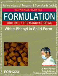 White Phenyl in Solid Form