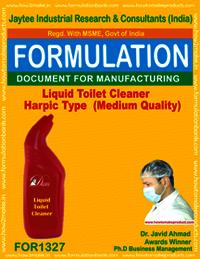 Liquid Toilet Cleaner Harpic Type (Medium Quality)