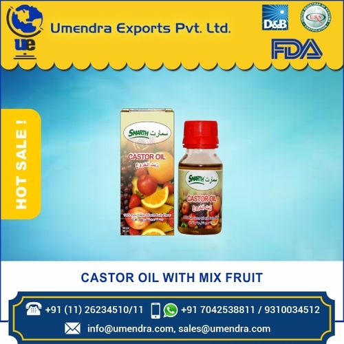CASTOR OIL WITH MIX FRUIT