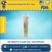 DR SMARTH CLEAR GEL TOOTHPASTE 1.5 oz