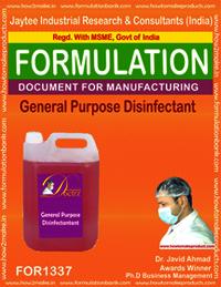 General purpose Disinfectant formulation