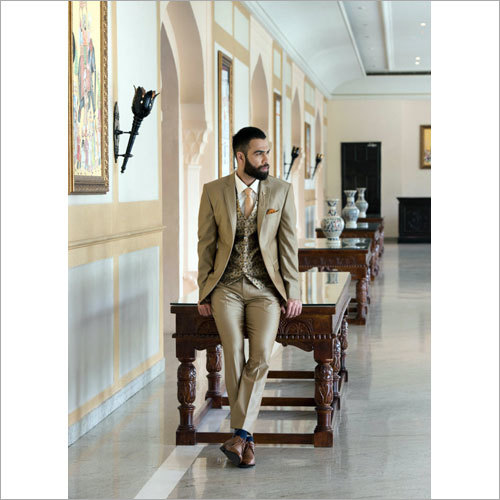 Golden Brown 5 Piece Suit