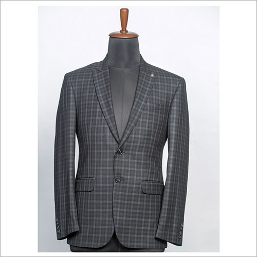 Mens Checkered Coat