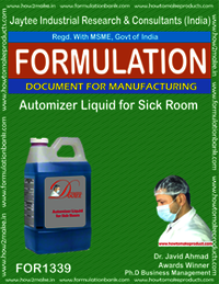 Automizer liquid for sick room disinfection-II