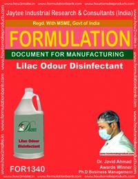Lilac Odour Disinfectant liquid