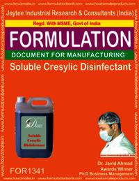 Soluble Cresylic Disinfectant liquid