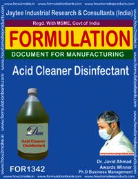 Acid Cleaner Disinfectant