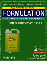 Surface Disinfectant Type 1