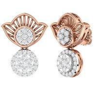 Heavy Diamond Earrings