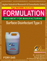 Surface Disinfectant Type 3
