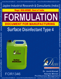 Surface Disinfectant formula Type 4