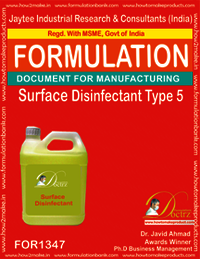 Surface Disinfectant formula Type 5