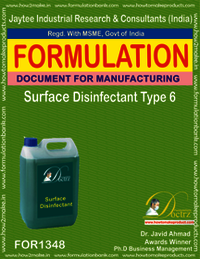 Surface Disinfectant formula Type 6