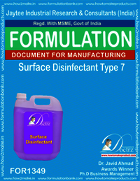 Surface Disinfectant formula Type 7
