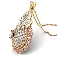 Ladies Diamond Pendants