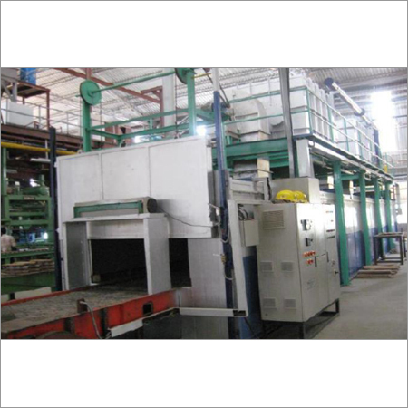 Continuous Type Pusher Hearth Furnace