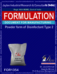 Disinfectant powder form type 2