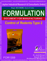 Rodents Control product Formulation type 2