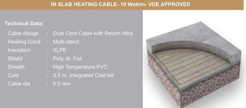 In-Slab Heating Cable (10 W/m)